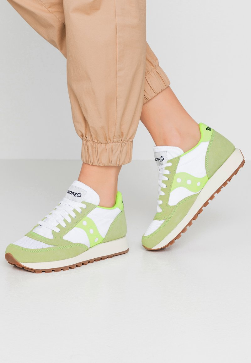 Saucony - JAZZ VINTAGE - Trainers - slime/white