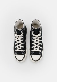 Converse - CHUCK TAYLOR ALL STAR EDGED ARCHIVE LEOPARD PRINT - Sneakers hoog - black/egret/driftwood - 5