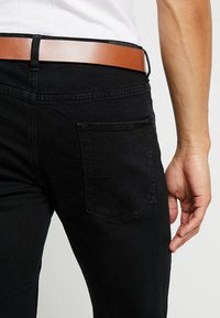 Esprit - Džíny Straight Fit - BLACK RINSE - 3