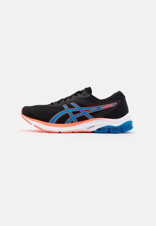 GEL PULSE 12 - Chaussures de running neutres - black/directoire blue