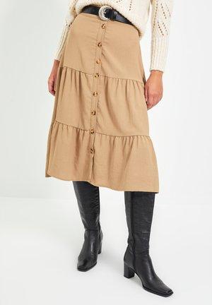 A-snit nederdel/ A-formede nederdele - brown