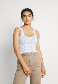 Hollister Co. - CINCH CAMI - Top - white - 0