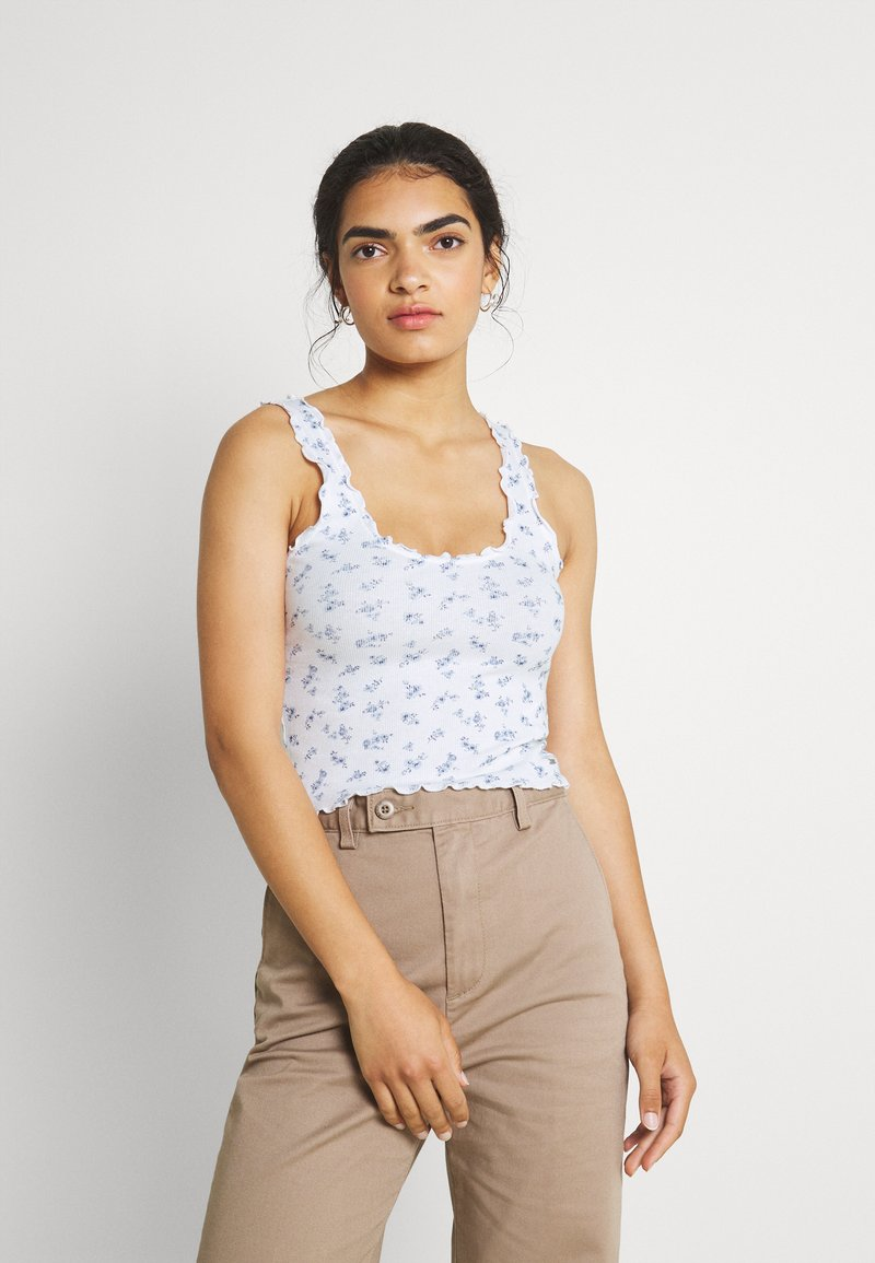Hollister Co. - CINCH CAMI - Top - white