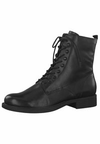Tamaris - STIEFELETTE - Kovbojské/motorkářské boty - black - 3