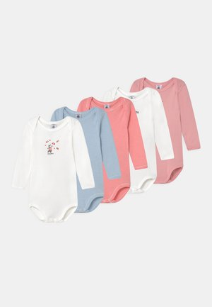 5 PACK - Body - pink/blue/white