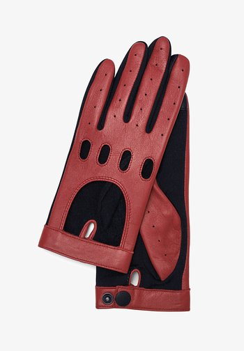 Gloves - crimson
