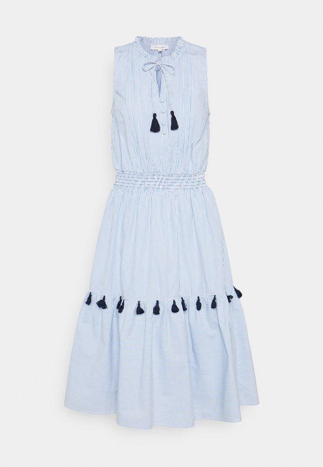 LEONORA TIERED DRESS - Day dress - azure blue