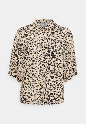 LIERRE - Button-down blouse - beige