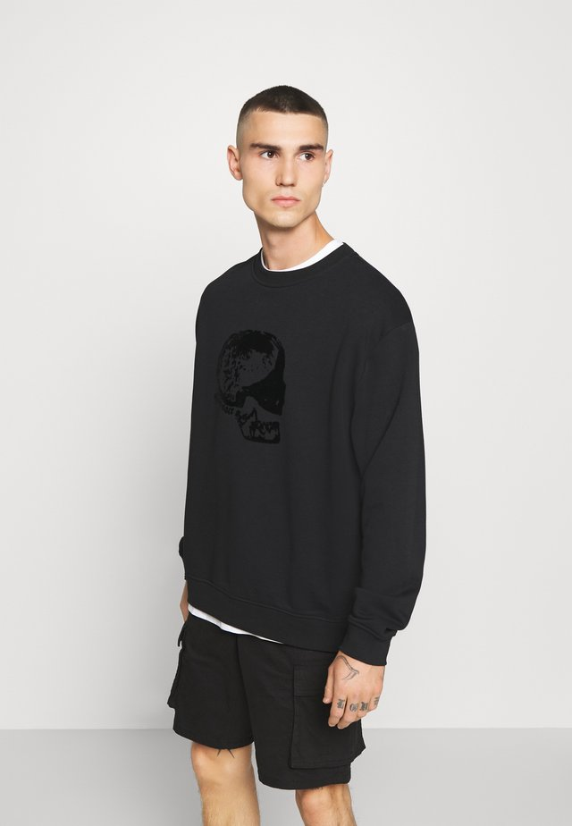 SKULL  - Sweatshirt - black