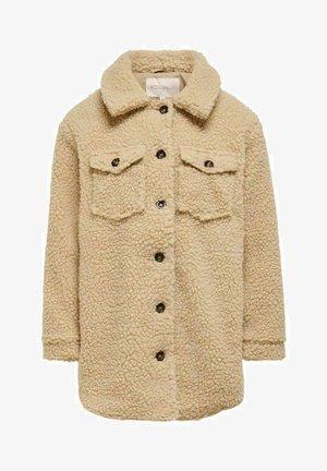 TEDDY - Winter coat - cuban sand