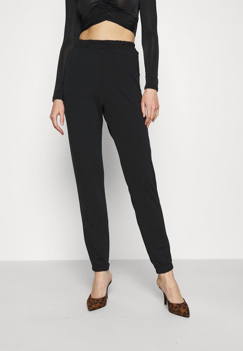 Missguided - BASIC - Spodnie treningowe - black