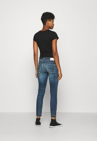 G-Star - LYNN MID SKINNY RIPPED ANKLE  - Jeans Skinny Fit - antic faded baum blue - 2