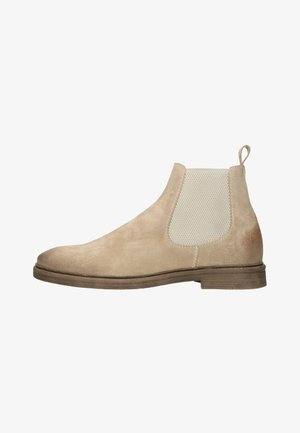 Korte laarzen - beige