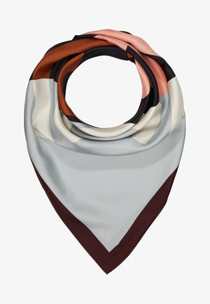 COLOR BLOCK LOGO SQUARE  - Foulard - black