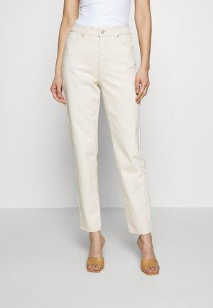 SLFLOU JADE  - Straight leg jeans - white denim