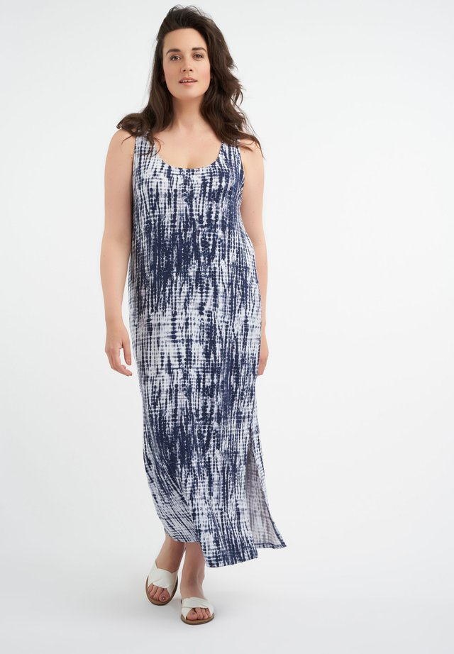 Maxi-jurk - multi aqua-blue