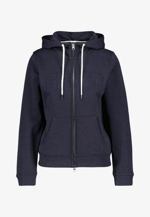 ARCH TONAL - Zip-up sweatshirt - marine