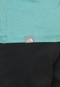 The North Face - SUMMER BOYFRIEND TEE - Print T-shirt - bristol blue - 6