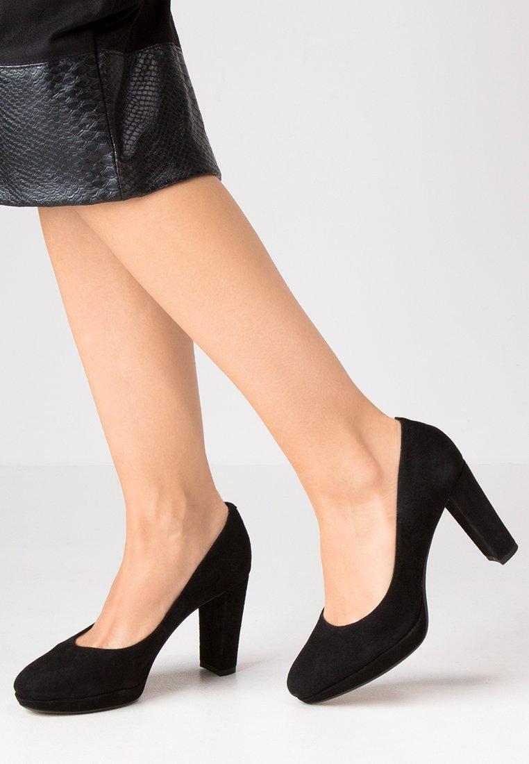 Clarks - KENDRA SIENNA - Lodičky na vysokém podpatku - black