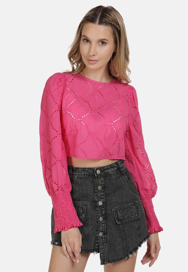 IZIA BLUSE - Blus - pink