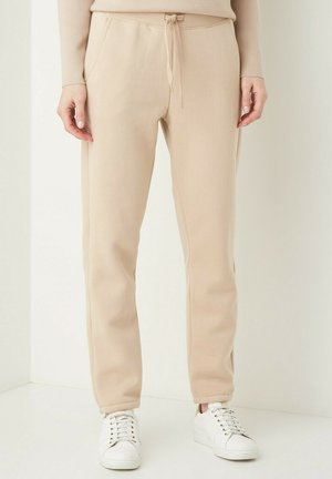 Tracksuit bottoms - macadamia