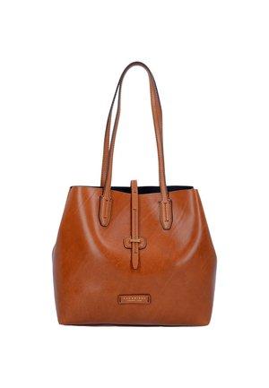 DALSTON SHOPPER 1307 - Shopping Bag - cognac
