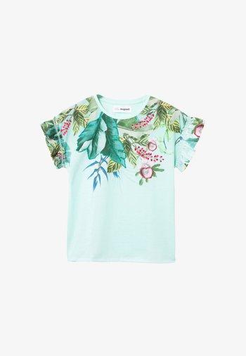 VIERA - Print T-shirt - green