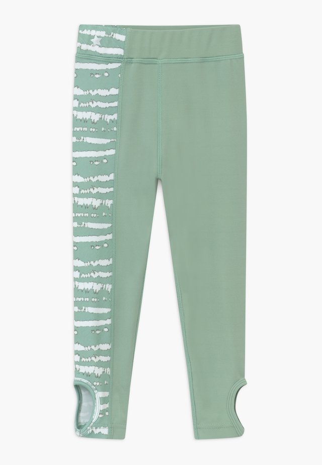 GIRLS KNOT PRINTED LEGGINGS - Punčochy - sage green