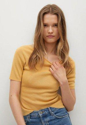 T-shirt basique - senfgelb