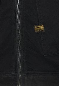 G-Star - AIR FORCE DENIM - Denim jacket - nero black stretch denim/pitch black - 2