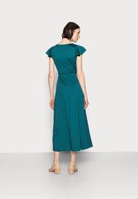 Anna Field - WRAP MIDI DRESS - Day dress - teal - 2