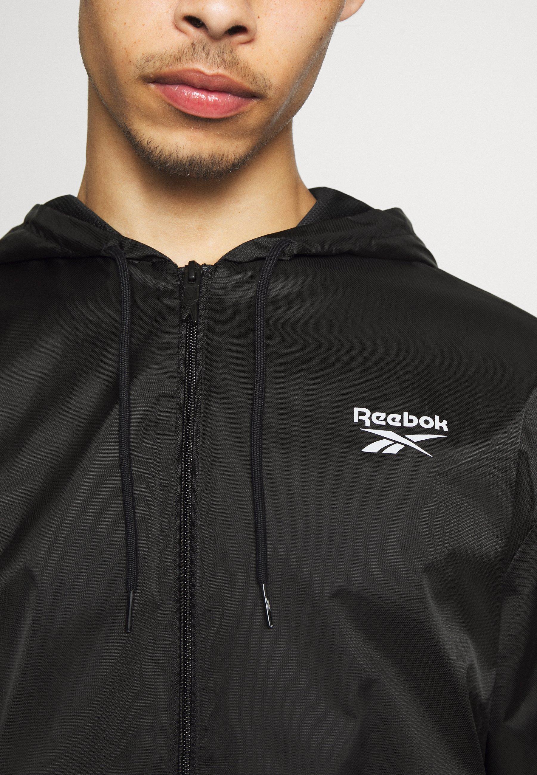 Reebok Classic VECTOR WINDBREAKER - Lett jakke - black