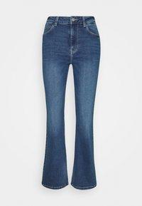 JDY - JDYNEWFLORA NEELA LIFE HGH FLARE  - Straight leg jeans - medium blue denim - 4