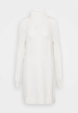 OBJAVA ROLLNECK DRESS - Jumper dress - gardenia