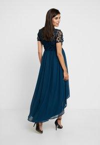 Chi Chi London Maternity - VERONICA DRESS - Vestido de fiesta - teal - 3
