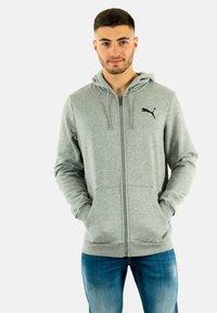 Puma - Zip-up sweatshirt - gris - 0