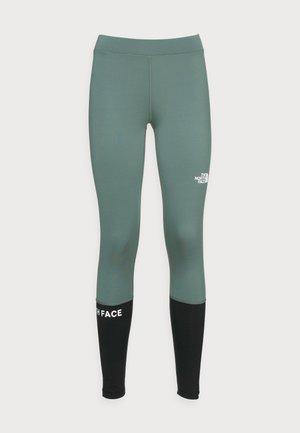 TIGHT - Legging - balsam green/black