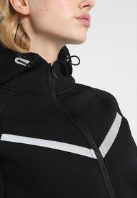 Even&Odd active - Mikina na zip - black - 6