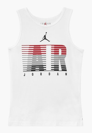 BRAND GRAPHIC TANK - Toppi - white