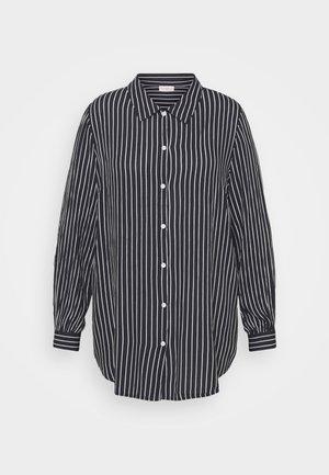 CARCAJSA - Button-down blouse - night sky