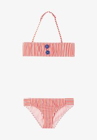 Calzedonia - Bikini - soul red/bianco - 0