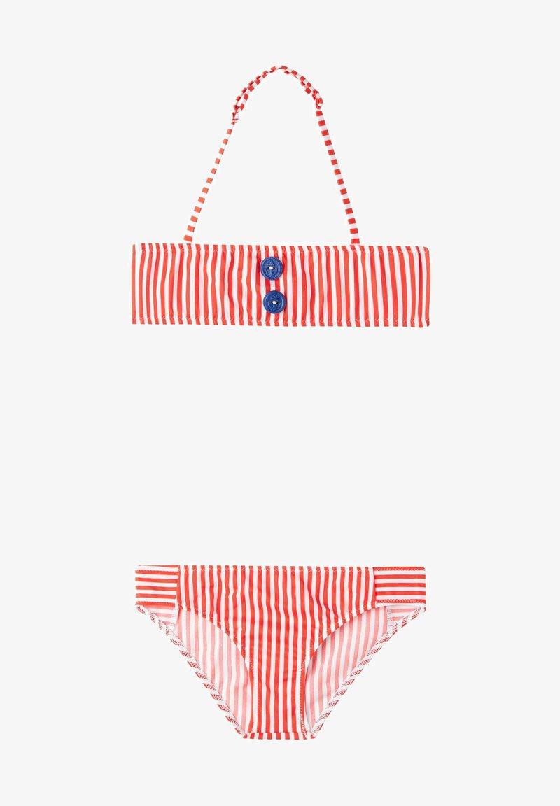 Calzedonia - Bikini - soul red/bianco