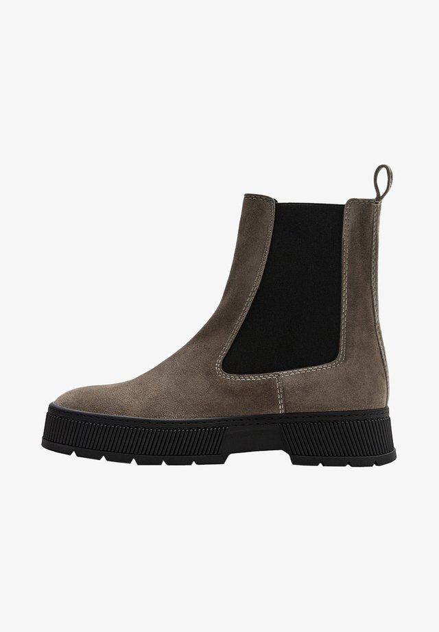 PLATEAU - Ankle boot - beige