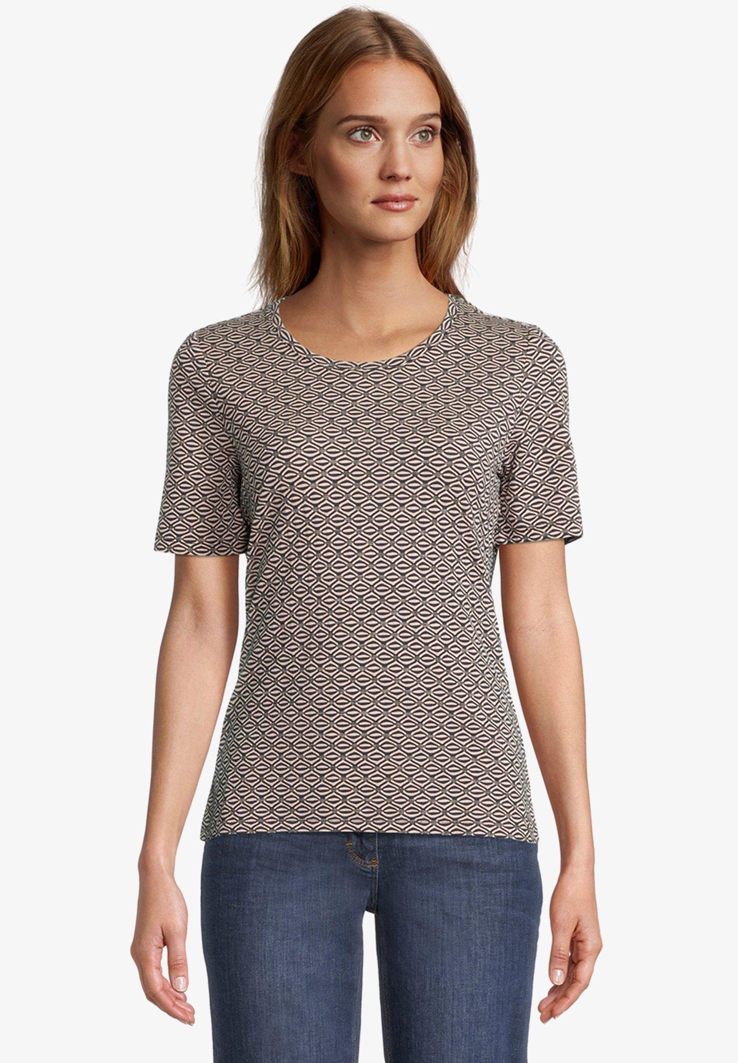 Damen MIT STRUKTUR - T-Shirt print