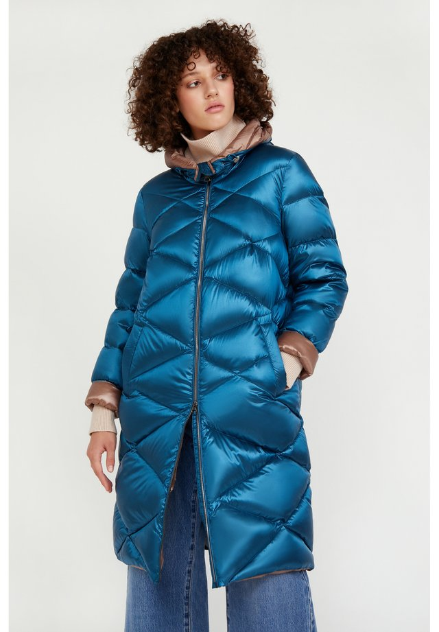 Down coat - dark turquois