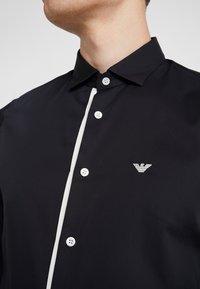 Emporio Armani - CAMICIA SLIM FIT - Formal shirt - blue navy - 6