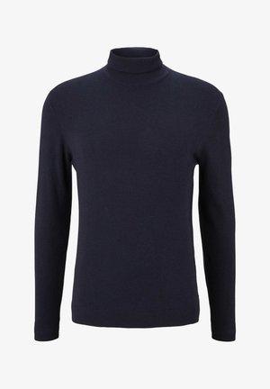 Pullover - knitted navy melange