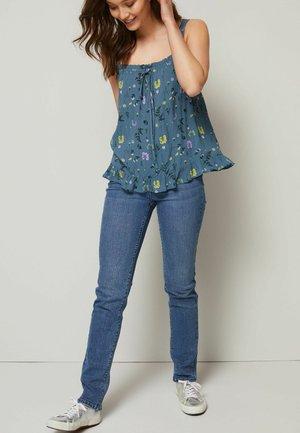 POWER STRETCH - Slim fit jeans - blue