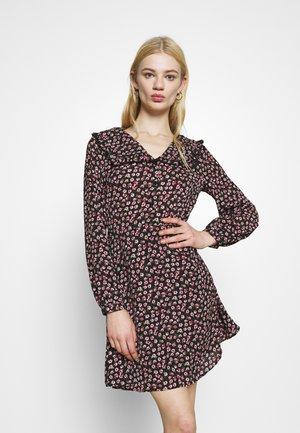 ONLROSA DRESS - Day dress - black/rose