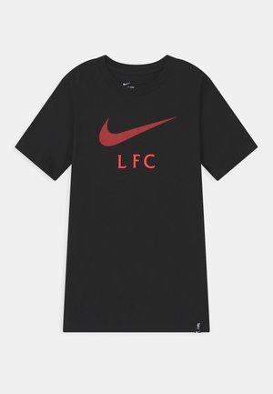 LIVERPOOL FC CLUB TEE - Vereinsmannschaften - black